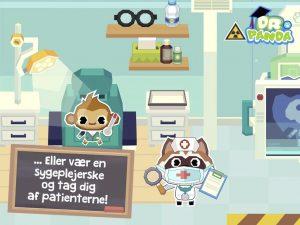 Dr panda skole sygeplejerske